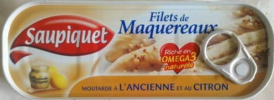 Filets de Maquereaux (Moutarde à l'ancienne et au citron) - Produit - fr