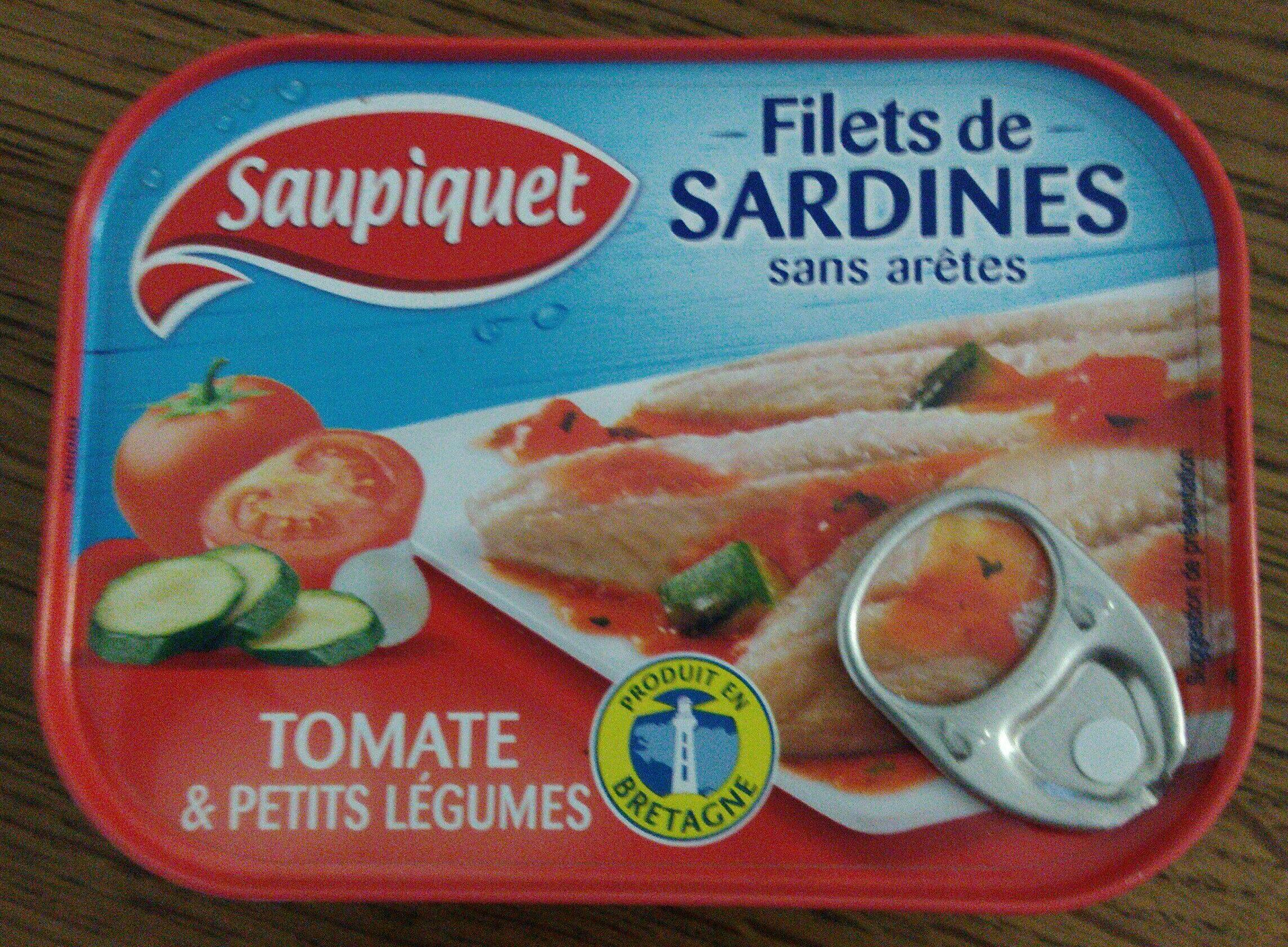Filets de Sardines (à la Tomate et ses petits légumes) - Product - fr