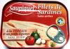 Filets de Sardines (à la Tomate et ses petits légumes) - Product
