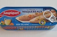 Fillet de Maquereaux vin blanc & aromates - Product - fr