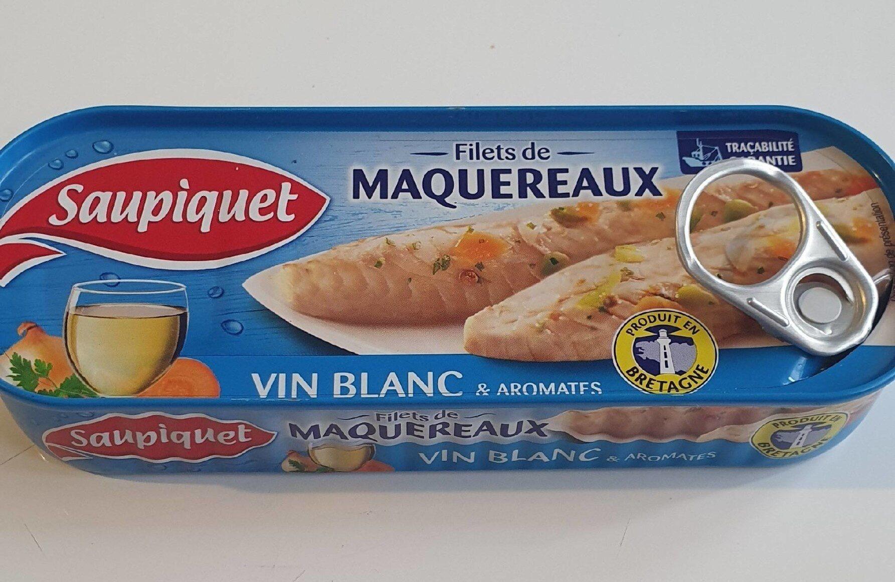 Fillet de Maquereaux vin blanc & aromates - Prodotto - fr