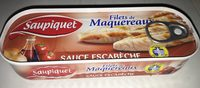Filets de Maquereaux Sauce Escabèche 169 gr - Product