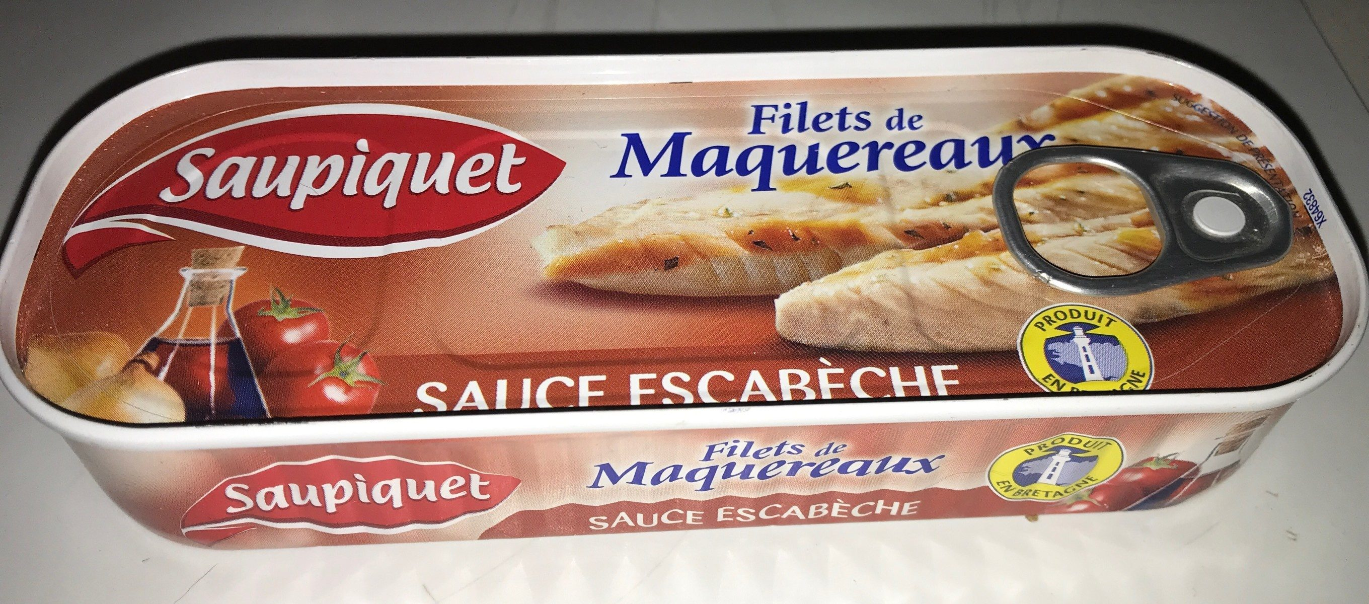 Filets de Maquereaux Sauce Escabèche 169 gr - Product - fr