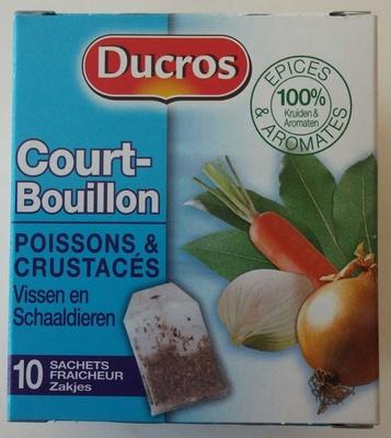 Court bouillon poissons curstac s ducros 20 g - Court bouillon poisson maison ...
