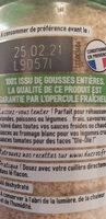 Ail semoule - Informations nutritionnelles - fr
