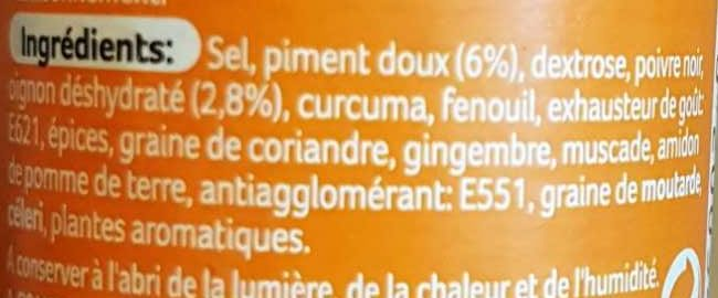 Mélange malin volaille - Ingredients