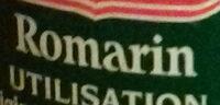 Romarin - Ingredients - fr