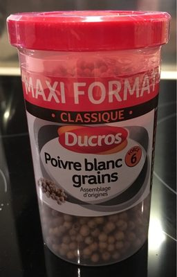 Poivre blanc grains - Ingrediënten