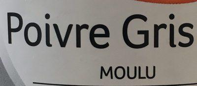 Poivre Gris moulu - Ingrédients - fr