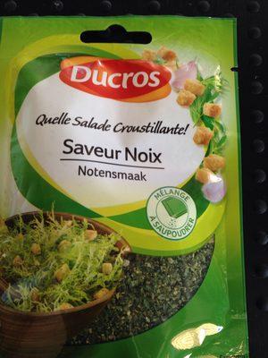Ducros Salade Croustillante Aux Noix Sachet 20G - Product