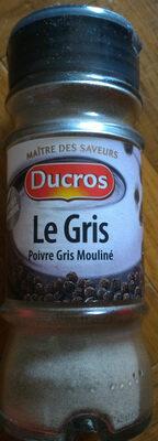Poivre gris - Produit - fr