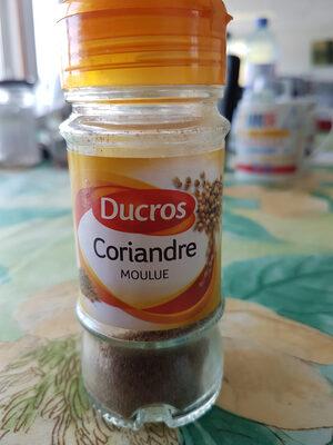Coriandre moulue - Ingredients - fr