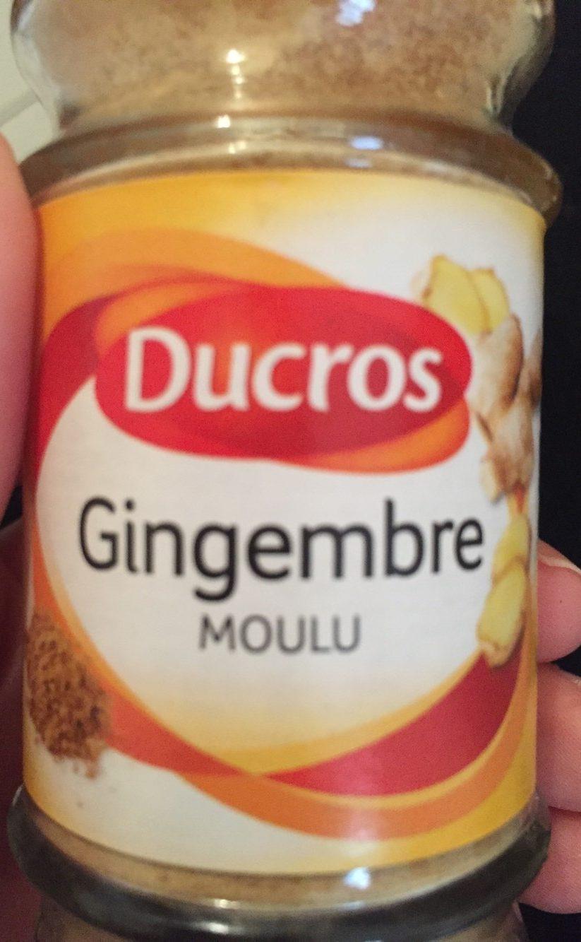 Gingembre moulu - Produit - fr