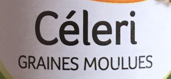 Céleri graines moulues - Ingrédients - fr