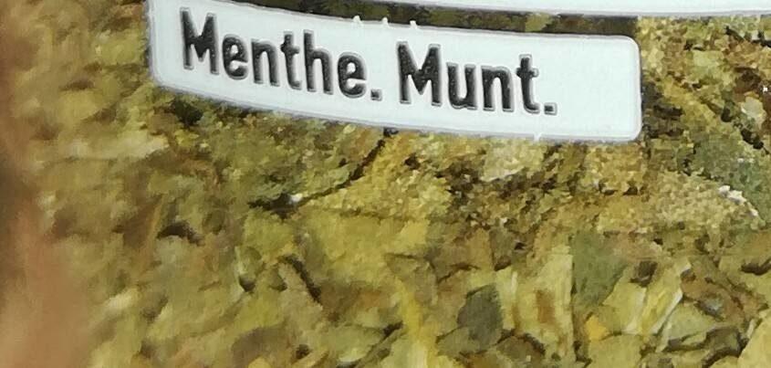9G Menthe Ducros - Ingrédients - fr