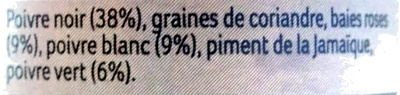 Poivre 5 baies entières - Ingrediënten