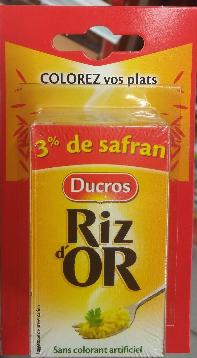 Riz d'Or - Product