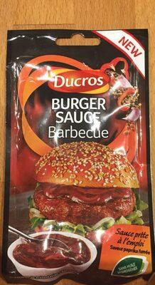 Burger sauce barbecue - Produit - fr