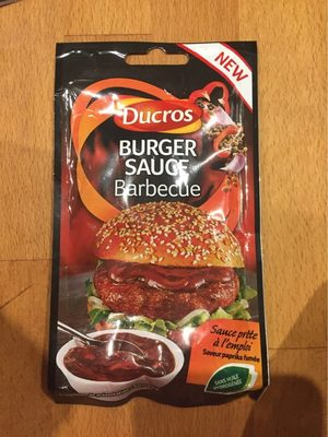 Burger sauce barbecue - Produit