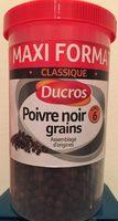 Poivre noir grains - maxi format classique - Product