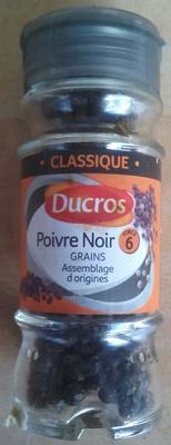 Poivre noir grains - Product - fr