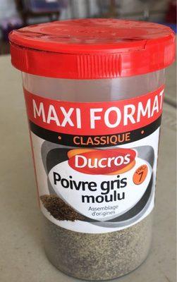 Poivre gris moulu CLASSIQUE - Produit