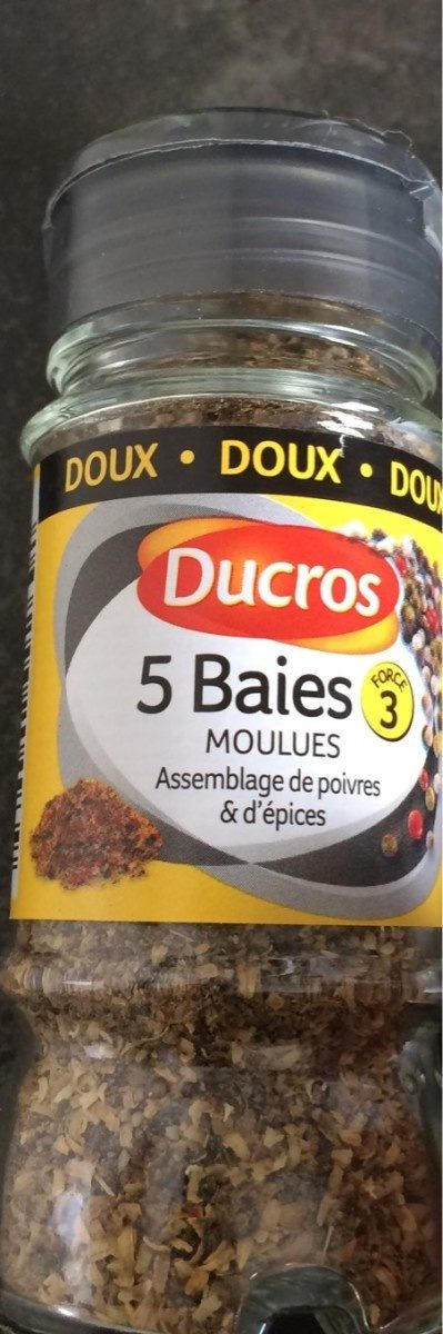 5 Baies moulues - Produit