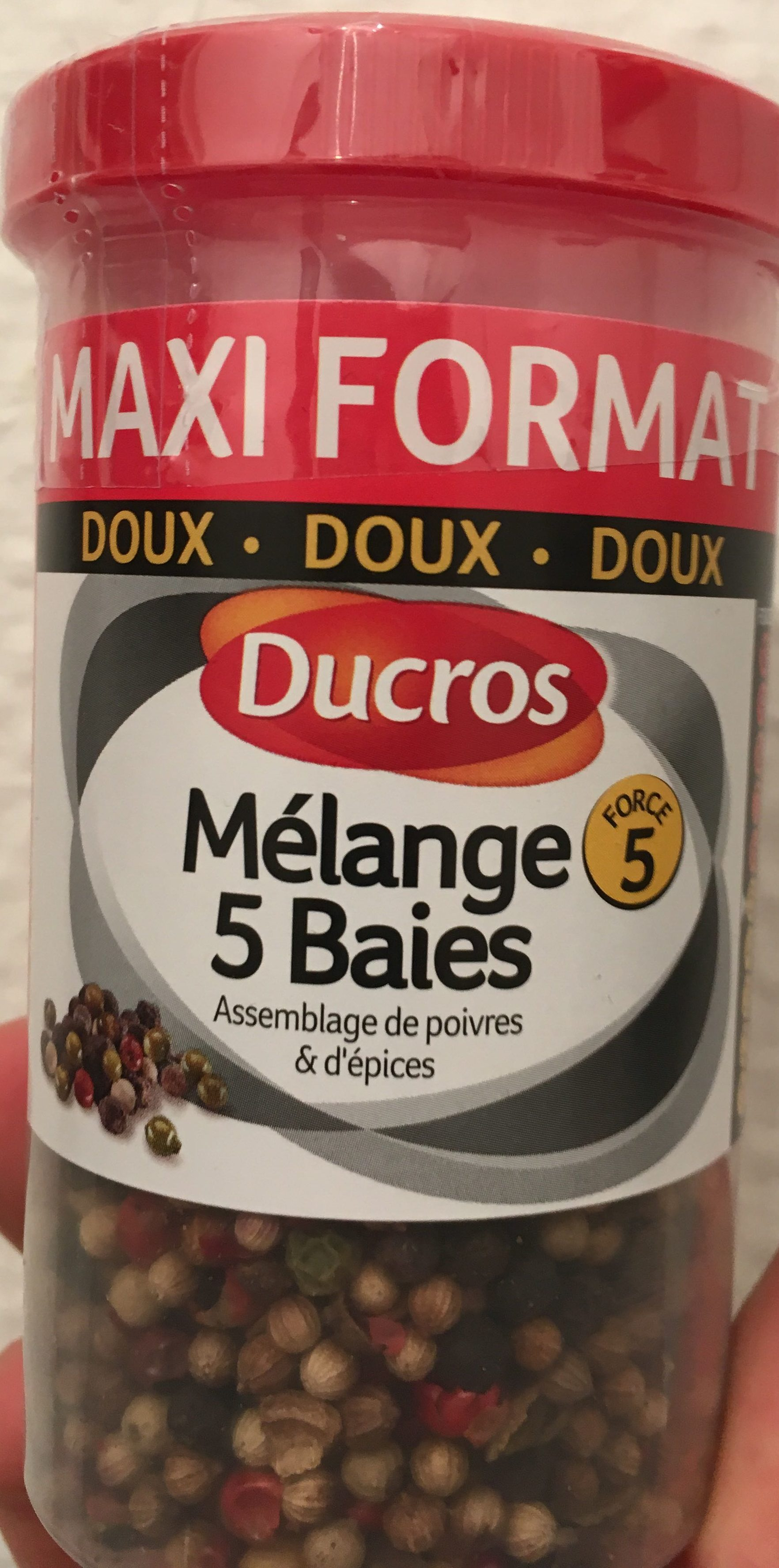 Mélange 5 baies (maxi format) - Producto