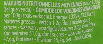 Quelle Salade ! Grecque - Nutrition facts