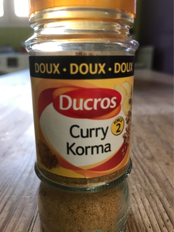 Curry Korma doux force 2 - Produit