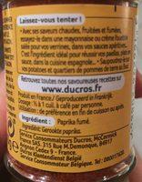 Paprika fumé - Ingrédients
