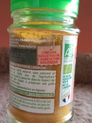 Curcuma - Ingredients - fr
