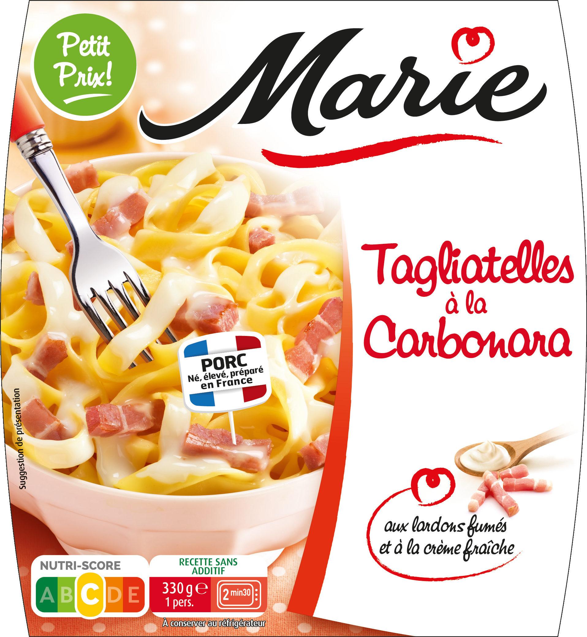 Tagliatelles à la Carbonara - Produit - fr