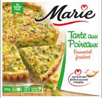 Tarte aux Poireaux, Emmental et crème Fraiche - Produit - fr