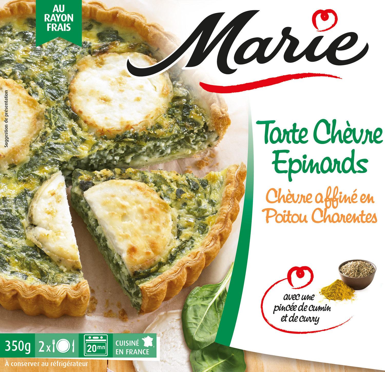 Tarte Chèvre Epinards - Produit
