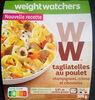 Tagliatelles au Poulet, Champignons, Crème - Product