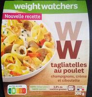 Tagliatelles au Poulet, Champignons, Crème - Product - fr