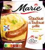 Saucisse de Toulouse grillée & purée au beurre - Produto