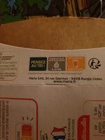 Saucisse de Toulouse grillée, Puree de pomme de terre - Instruction de recyclage et/ou information d'emballage - fr