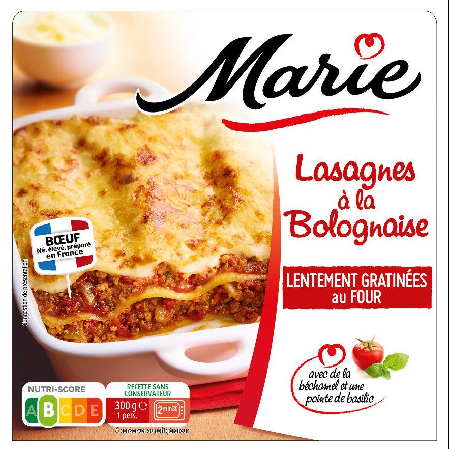 Lasagnes a la bolognaise - Produit - fr