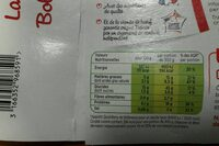 Lasagnes a la bolognaise - Nutrition facts