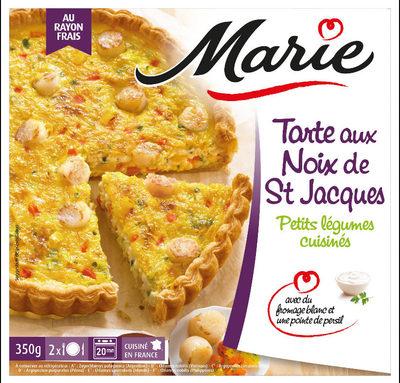 Tarte Noix de St Jacques, petits légumes cuisinés - Produit