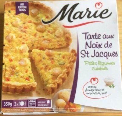 Tarte aux Noix de St Jacques, Petits Légumes Cuisinés - Produit - fr