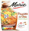 Paupiette de Veau, Jardinière de légumes - Produit