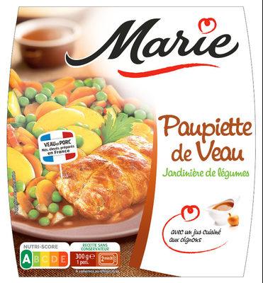 Paupiette de Veau, Jardinière de légumes - Product - fr