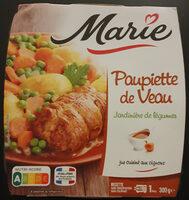Paupiette de veau jardinière de légumes - Product - fr