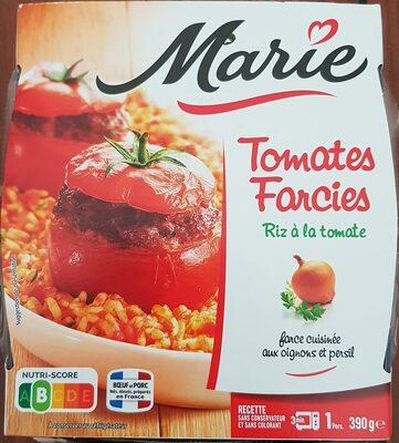 Tomates Farcies, riz à la tomate - Product - fr
