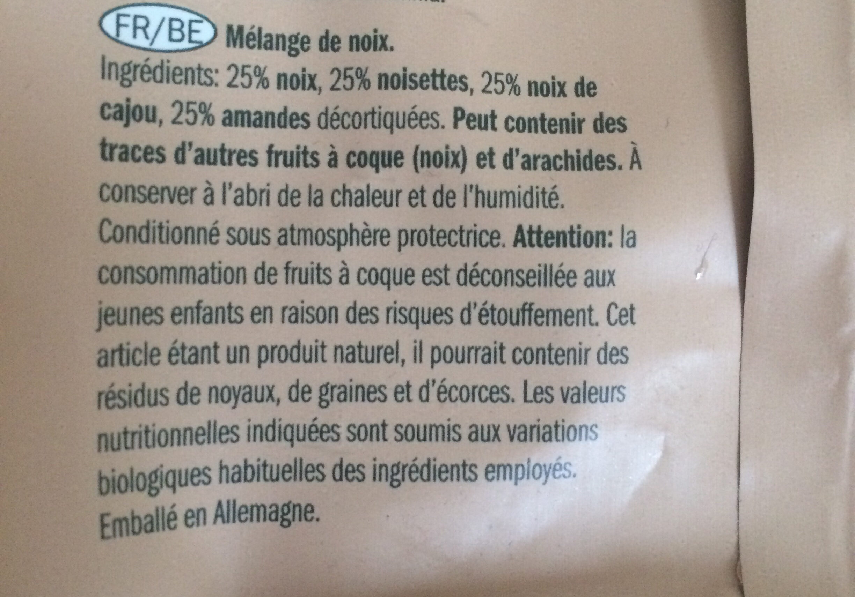 Mélange de noix - Ingredienti - fr