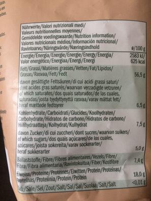 Mélange de noix - Valori nutrizionali - fr