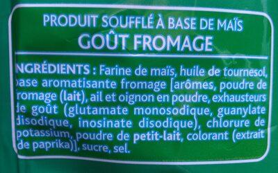 Bénénuts 3D's Bugles goût fromage - 8